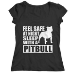 Limited Edition - Feel safe at night sleep with a Pitbull