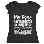 My Dogs Are The Reason