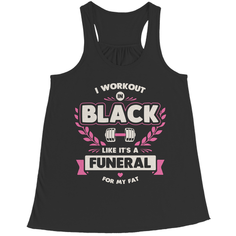 I Workout In Black
