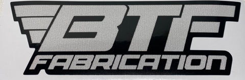 BTF sticker, black and gray-small