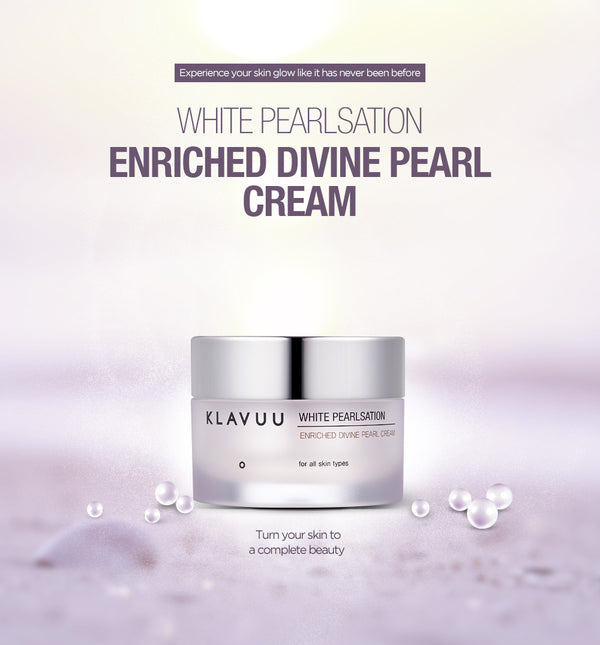 KLAVUU White Pearlsation Enriched Divine Pearl Cream Mini 8ml