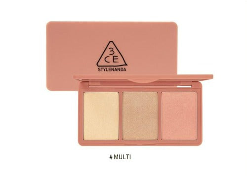 3CE Strobing Skin Palette MULTI - MakeUp World Pakistan