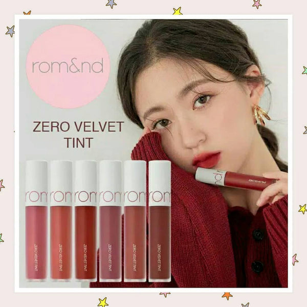 ROMAND Zero Velvet Tint - MakeUp World Pakistan