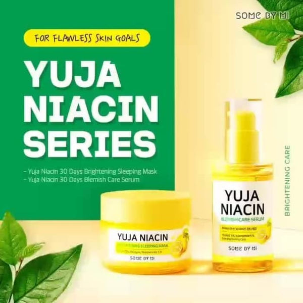 SOMEBYMI Yuja Niacin Sleeping Mask & Serum Bundle - MakeUp World Pakistan