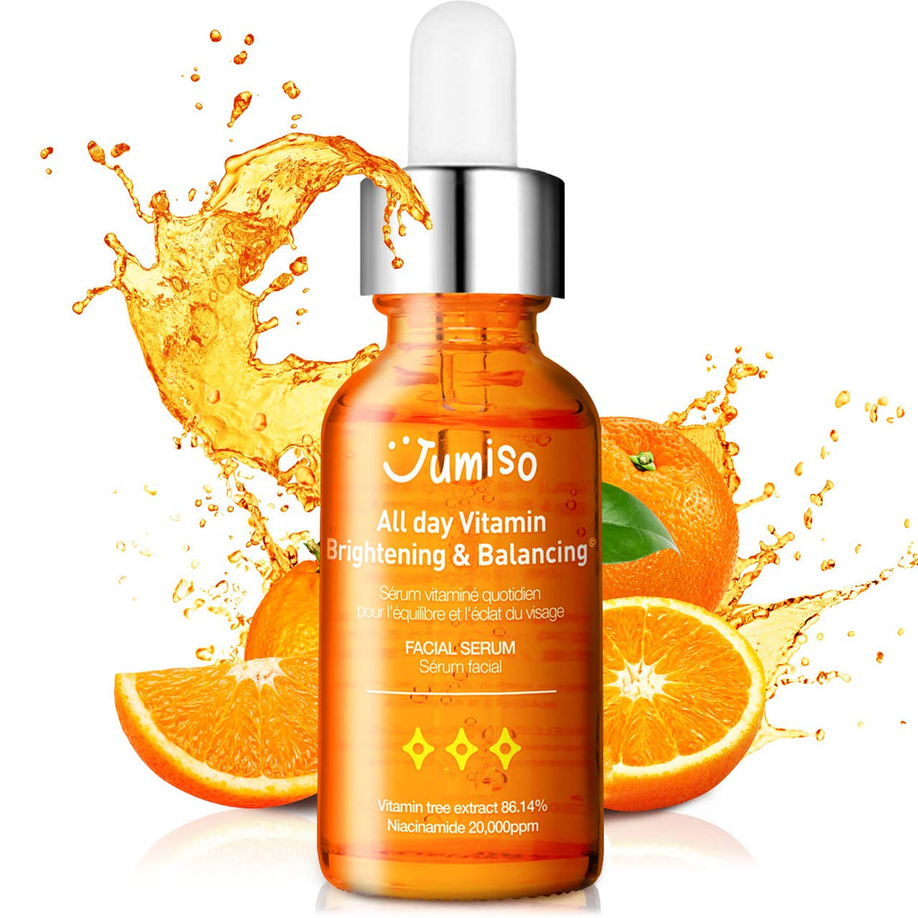 JUMISO All Day Vitamin Brightening & Balancing Facial Serum 30ml - MakeUp World Pakistan