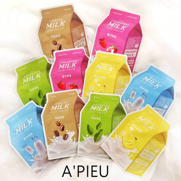 A'PIEU - Milk One Pack Sheet Mask - MakeUp World Pakistan