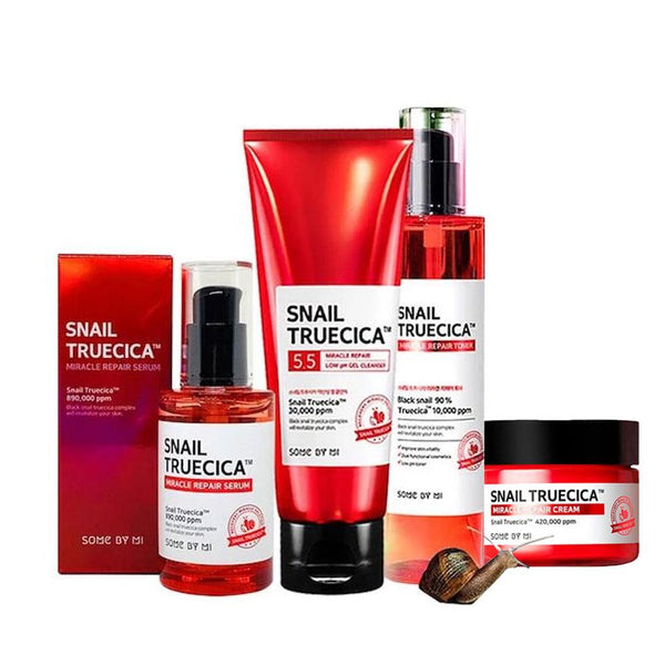 SOMEBYMI Snail Truecica Bundle Set (4 Items) - MakeUp World Pakistan