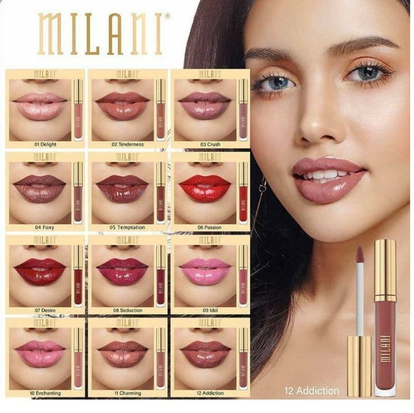 MILANI Amore Shine Liquid Lipstick Color