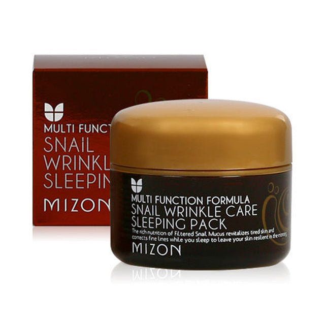 MIZON Snail Wrinkle Care Sleeping Pack - MakeUp World Pakistan