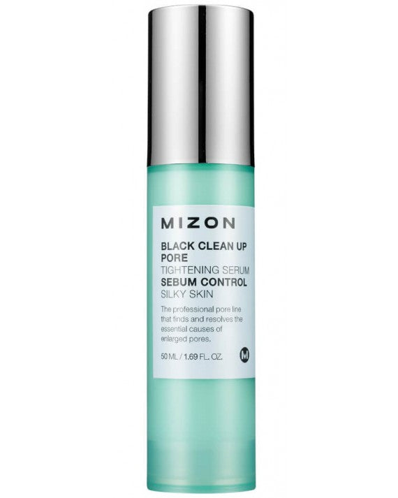 MIZON Black Clean Up Pore Tightening Serum - MakeUp World Pakistan
