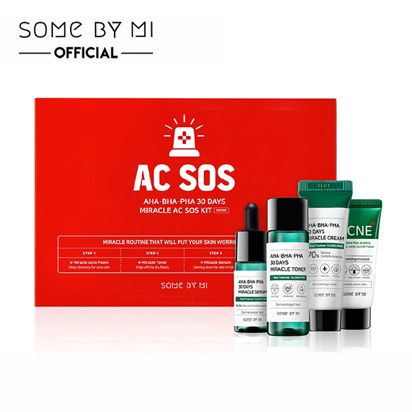 SOMEBYMI 30 Days Miracle AC SOS Kit - MakeUp World Pakistan