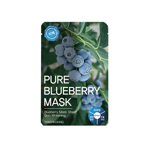 TOSOWOONG Pure Blueberry Mask - MakeUp World Pakistan