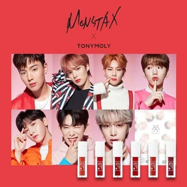 TONYMOLY MONSTA-X Collaboration - Liptone Get It Tint S - MakeUp World Pakistan
