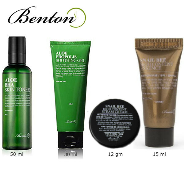 BENTON Mini Trial Kit 4 items - MakeUp World Pakistan