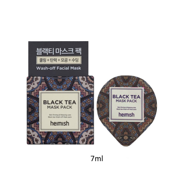 HEIMISH Black Tea Mask Pack Mini 7ml