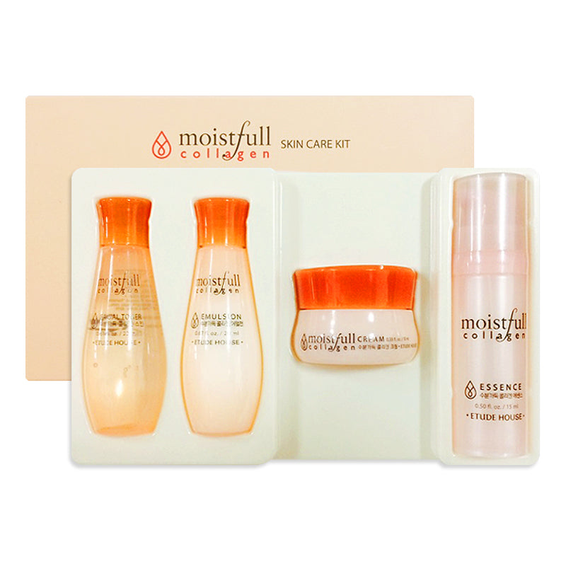 ETUDE HOUSE Moistfull Collagen Skincare Trial Kit (4 pcs) - MakeUp World Pakistan