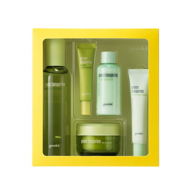 GOODAL Green Tangerine Honey Moist Skin Care Set - MakeUp World Pakistan