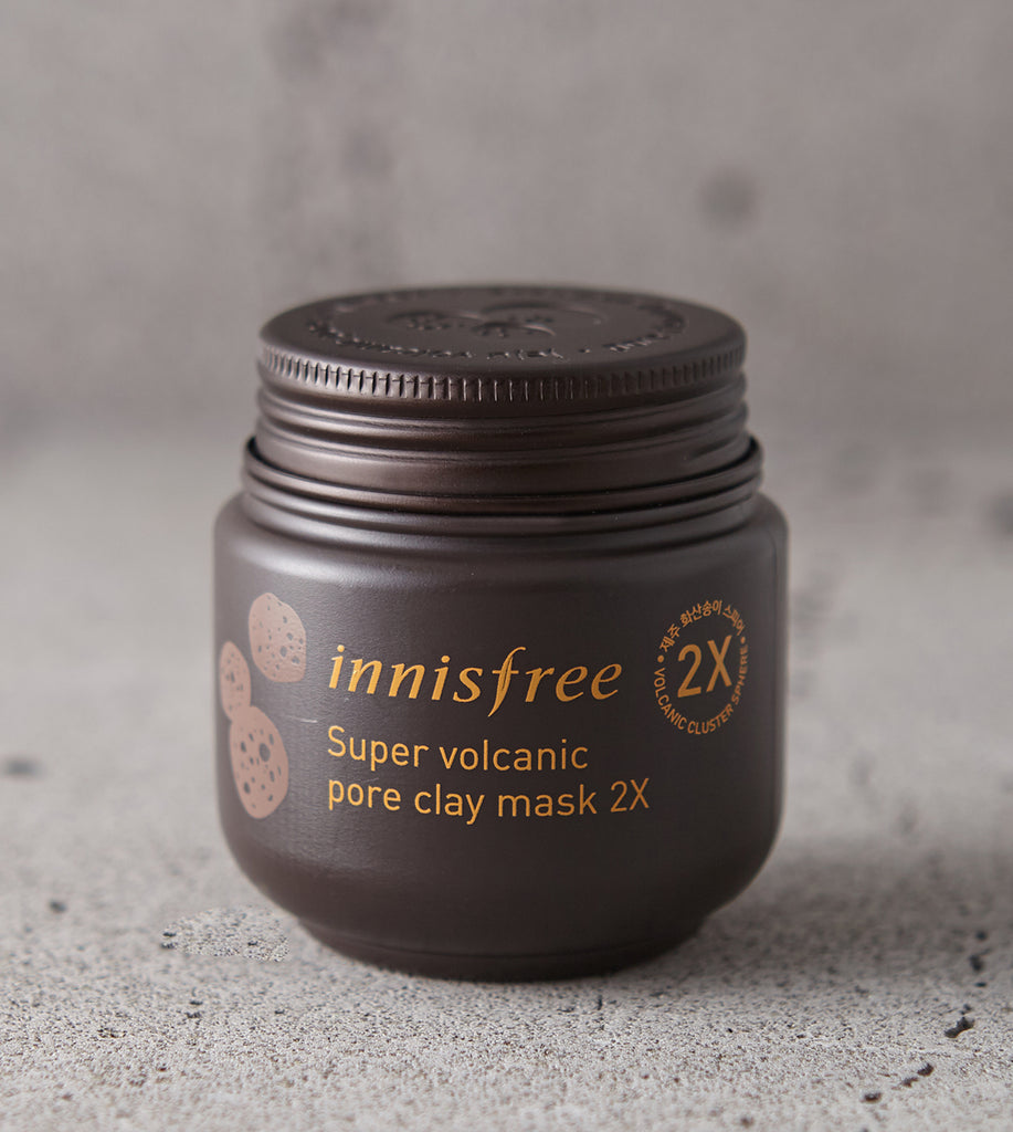 INNISFREE Super volcanic pore clay mask 2X - MakeUp World Pakistan