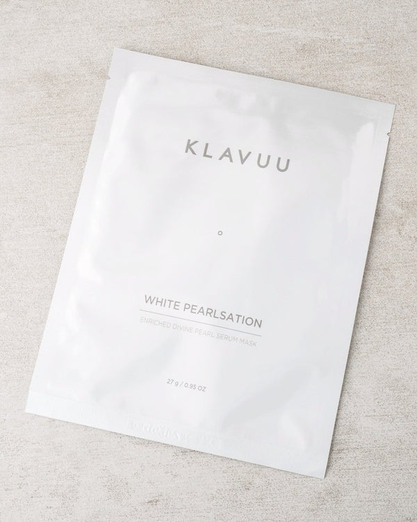 KLAVUU White Pearlsation Enriched Divine Pearl Serum Mask - MakeUp World Pakistan