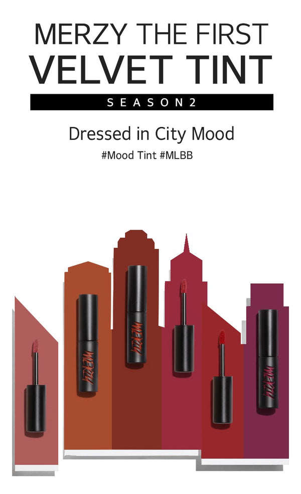 MERZY The First Velvet Tint Season 2 (Mood Color) - MakeUp World Pakistan