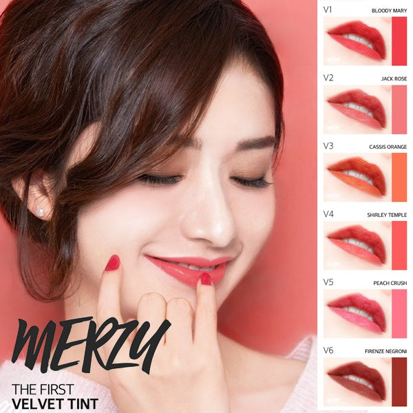 MERZY The First Velvet Tint Season 1 (Cocktail Color) - MakeUp World Pakistan