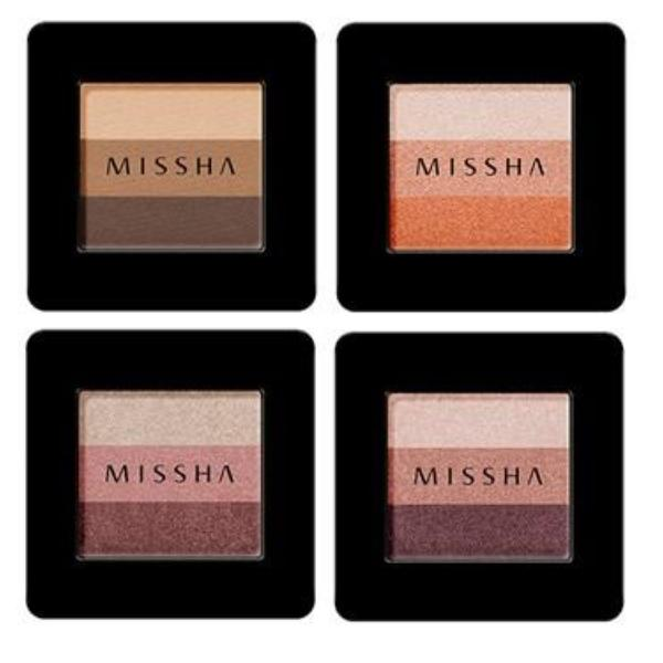 MISSHA Triple Shadow 8 Colors - MakeUp World Pakistan