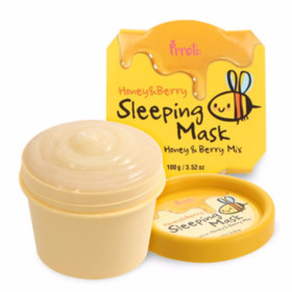 PRRETI Honey & Berry Sleeping Mask - MakeUp World Pakistan