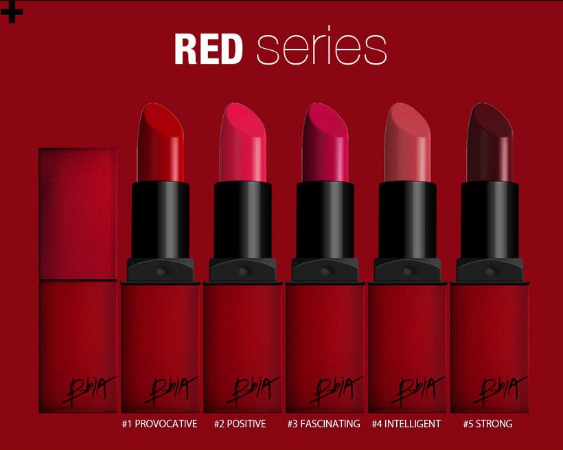 BBIA Last Lipstick (Velvet Matte) - Red Series 1 - MakeUp World Pakistan