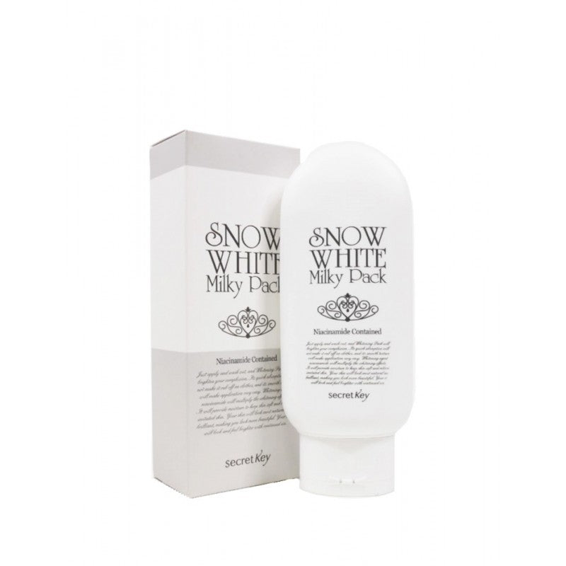 SECRET KEY Snow White Milky Pack 200g - MakeUp World Pakistan