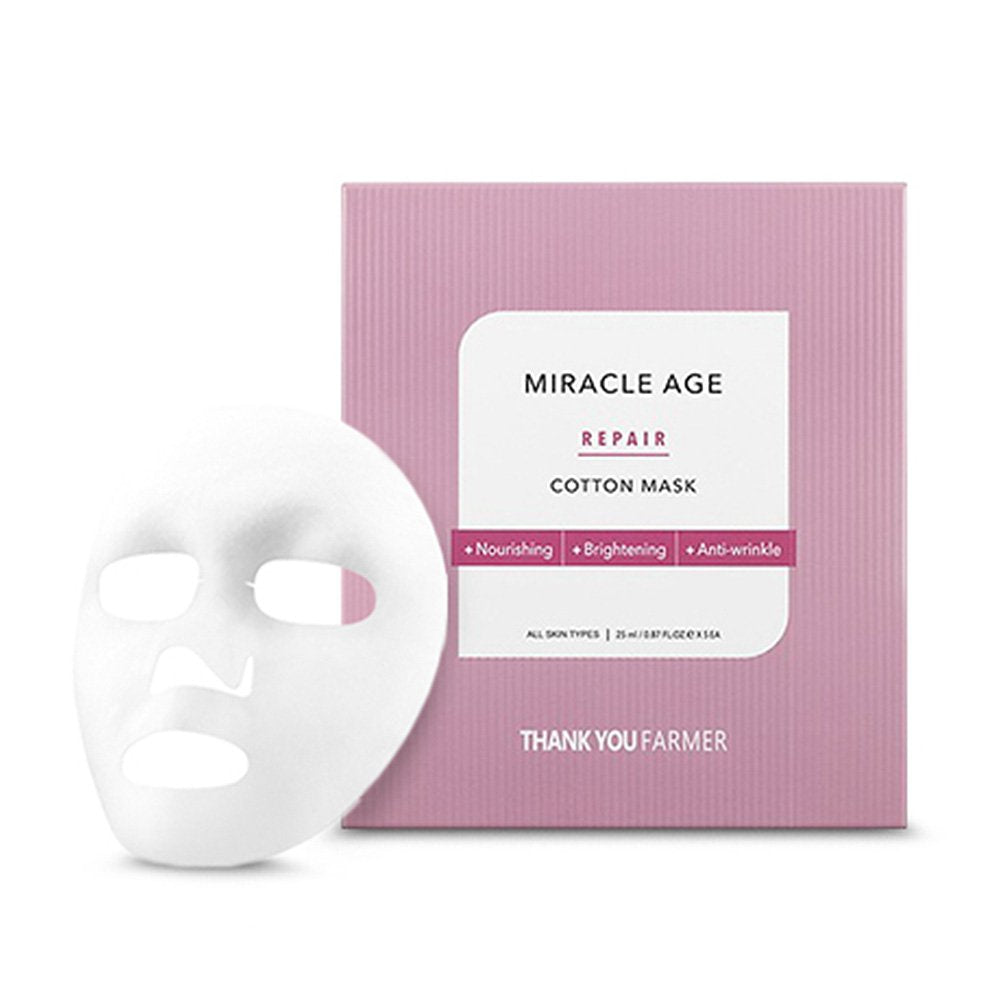 THANK YOU FARMER Miracle Age Repair Cotton Mask - MakeUp World Pakistan