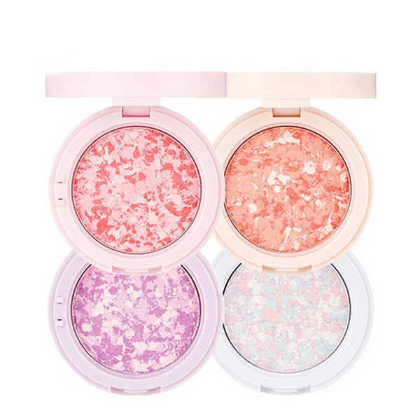 THE FACE SHOP Marble Beam Blush & Highlighter