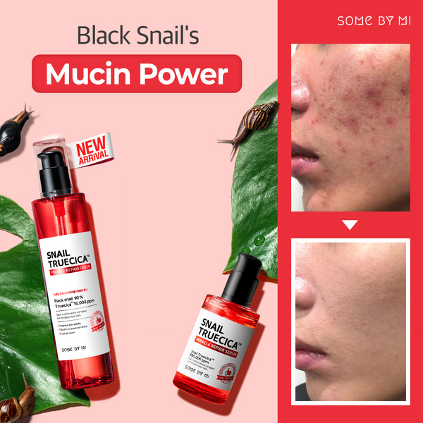 SOMEBYMI Snail Truecica Miracle Repair Toner + Serum Set - MakeUp World Pakistan