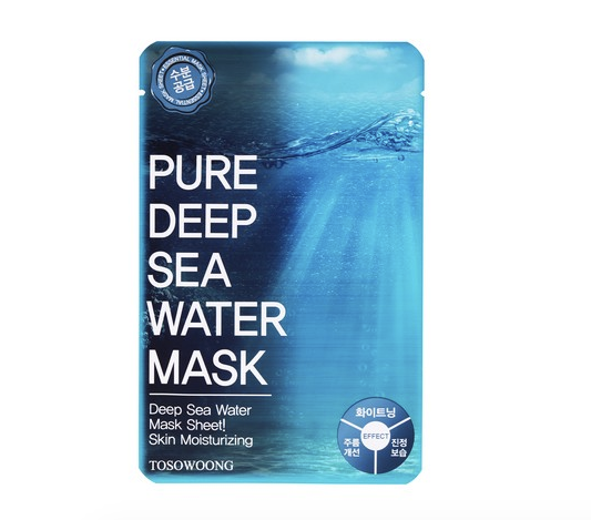 TOSOWOONG Pure Deep Sea Water Mask - MakeUp World Pakistan