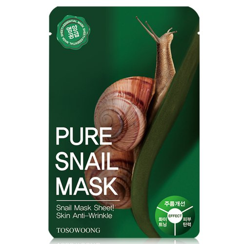 TOSOWOONG Pure Snail Mask - MakeUp World Pakistan