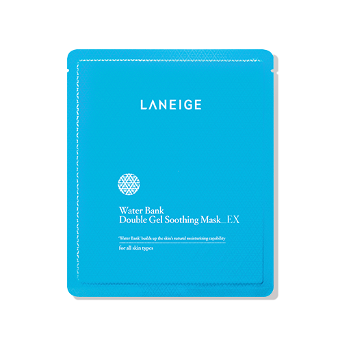 LANEIGE Water Bank Double Gel Soothing Mask EX