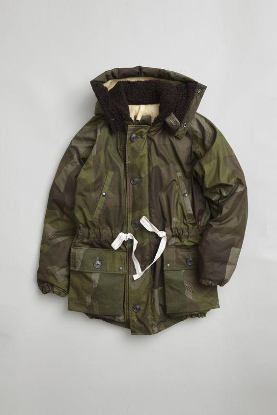 Nigel Cabourn - VERY HEAVY JACKET - C.W.C CAMO