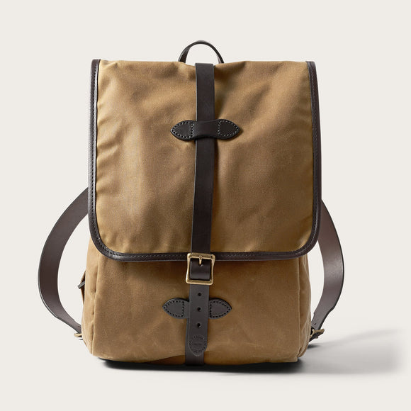 FILSON - TIN CLOTH BACKPACK - 15OZ TIN CLOTH