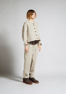 Nigel Cabourn WOMAN - WORK WEAR PANT - FRENCH LINEN