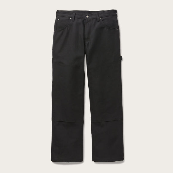 FILSON - C.C.F. UTILITY CANVAS PANTS - BLACK