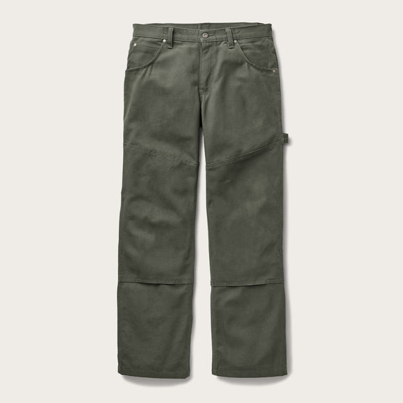 FILSON - C.C.F. UTILITY CANVAS PANTS - CANNONBALL GREEN
