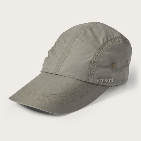 FILSON - FEATHER CLOTH DUCK BILL CAP - OLIVE GREY