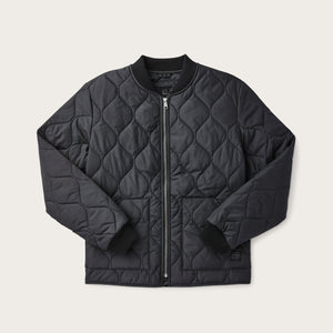 FILSON - C.C.F. LIGHTWEIGHT QUILTED JACKET - BLACK