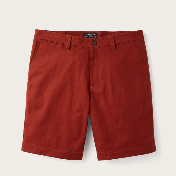 FILSON - PERFORMANCE SHELTER SHORTS - SEQUOIA