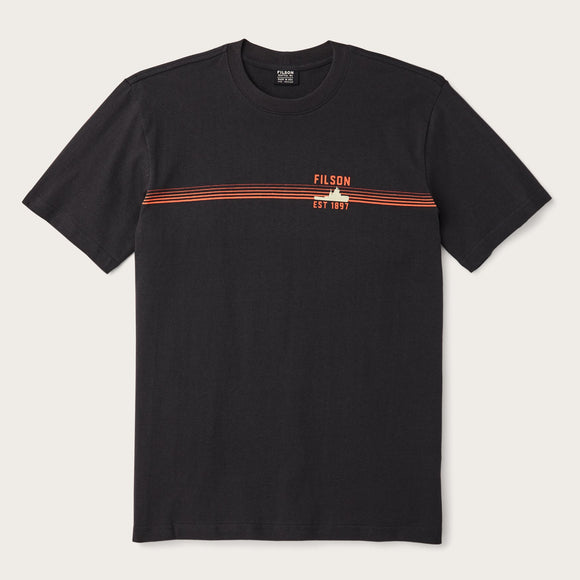 FILSON - S/S OUTFITTER GRAPHIC TEE - BLACK
