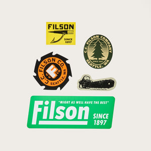 FILSON - LUMBER MILL STICKER PACK - LIMITED