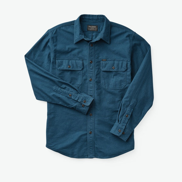 FILSON - FIELD FLANNEL SHIRT - Legion Blue