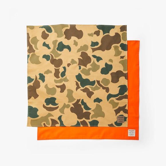 FILSON - SPORTSMAN BANDANA 2PACK - LIGHT SHRUB CAMO/FLAME