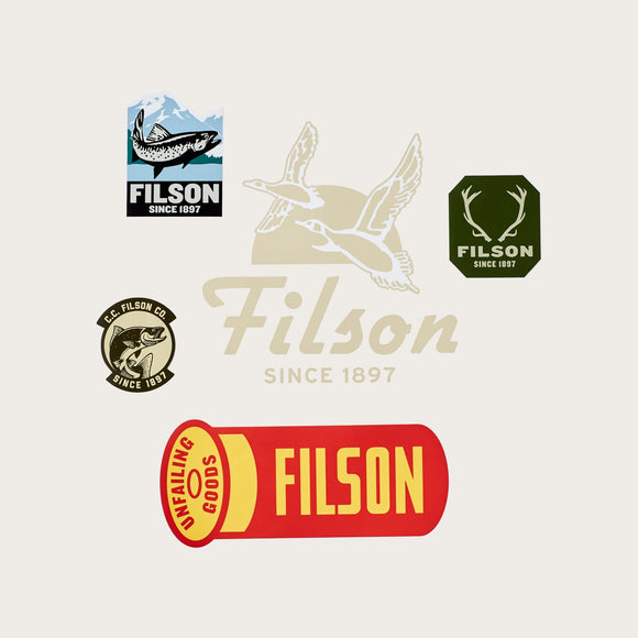 FILSON - SPORTSMAN STICKER PACK - LIMITED