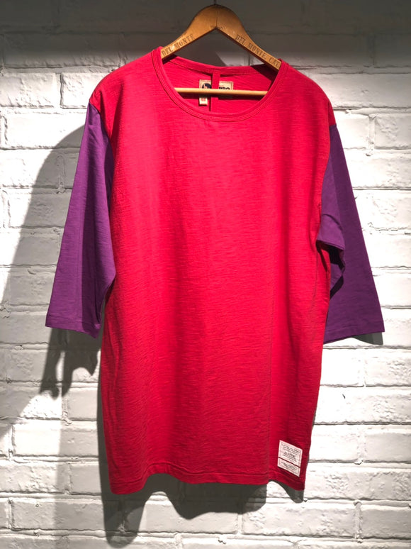 Nigel Cabourn - LYBRO 1/2 SLEEVE TEE - RED