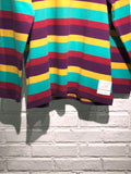 Nigel Cabourn - LYBRO LONG SLEEVE CREW - MULTI STRIPE